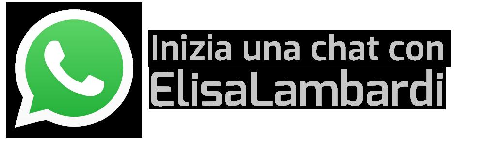 inizia una chat con ElisaLambardi